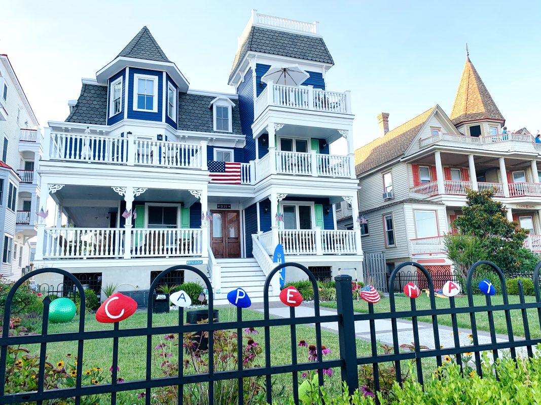 Stacey Lee Photo Cape May Victorian House