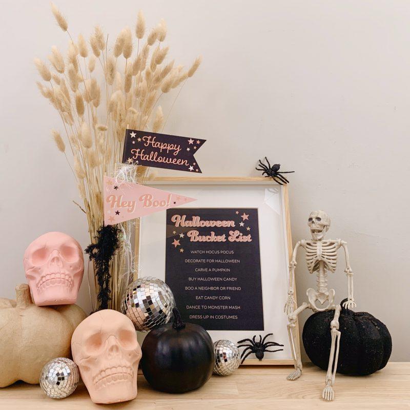 Stacey Lee Halloween Bucket List