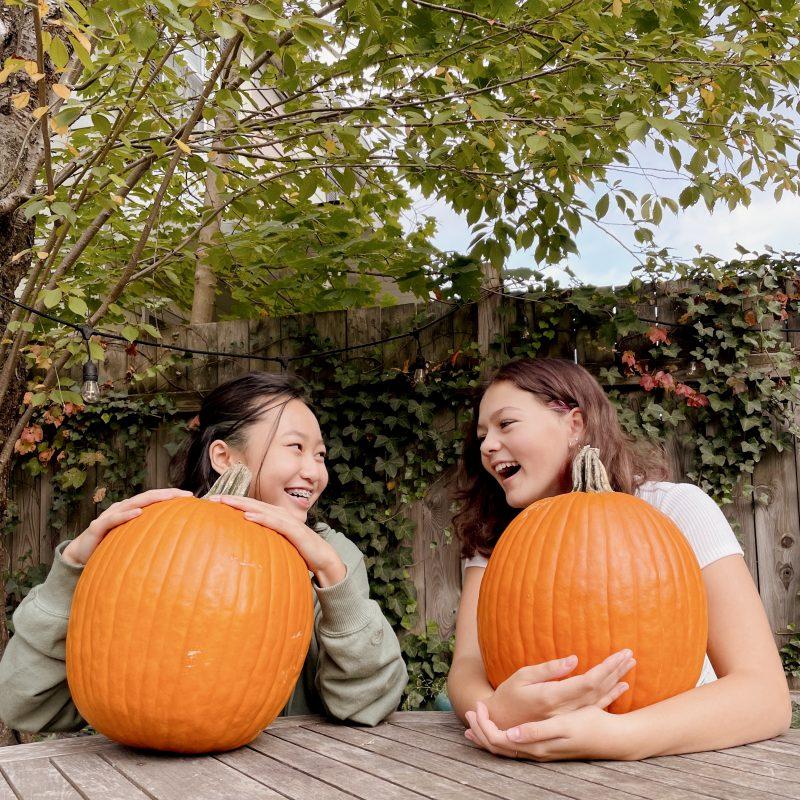 Stacey Lee Halloween Pumpkin Carving