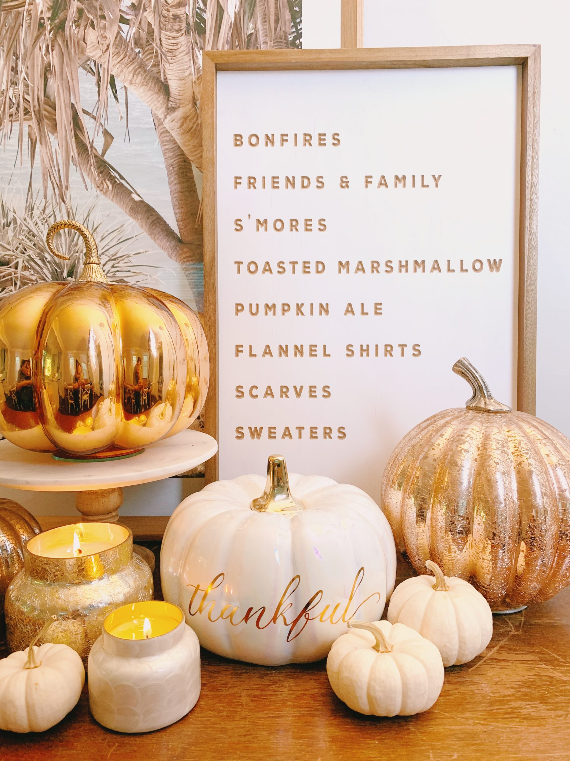 Stacey Lee Fall Decor Candles