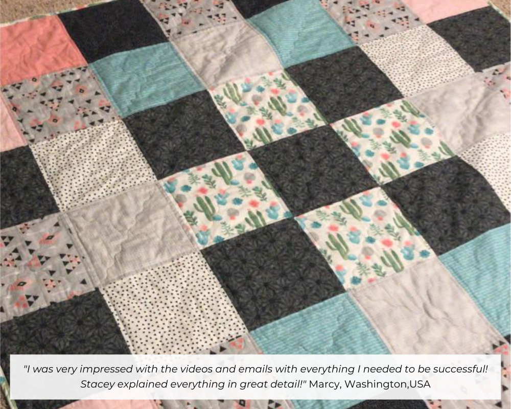Members quilt and feedback