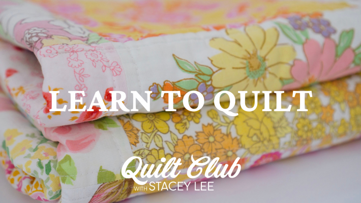 Learn to Quilt 1