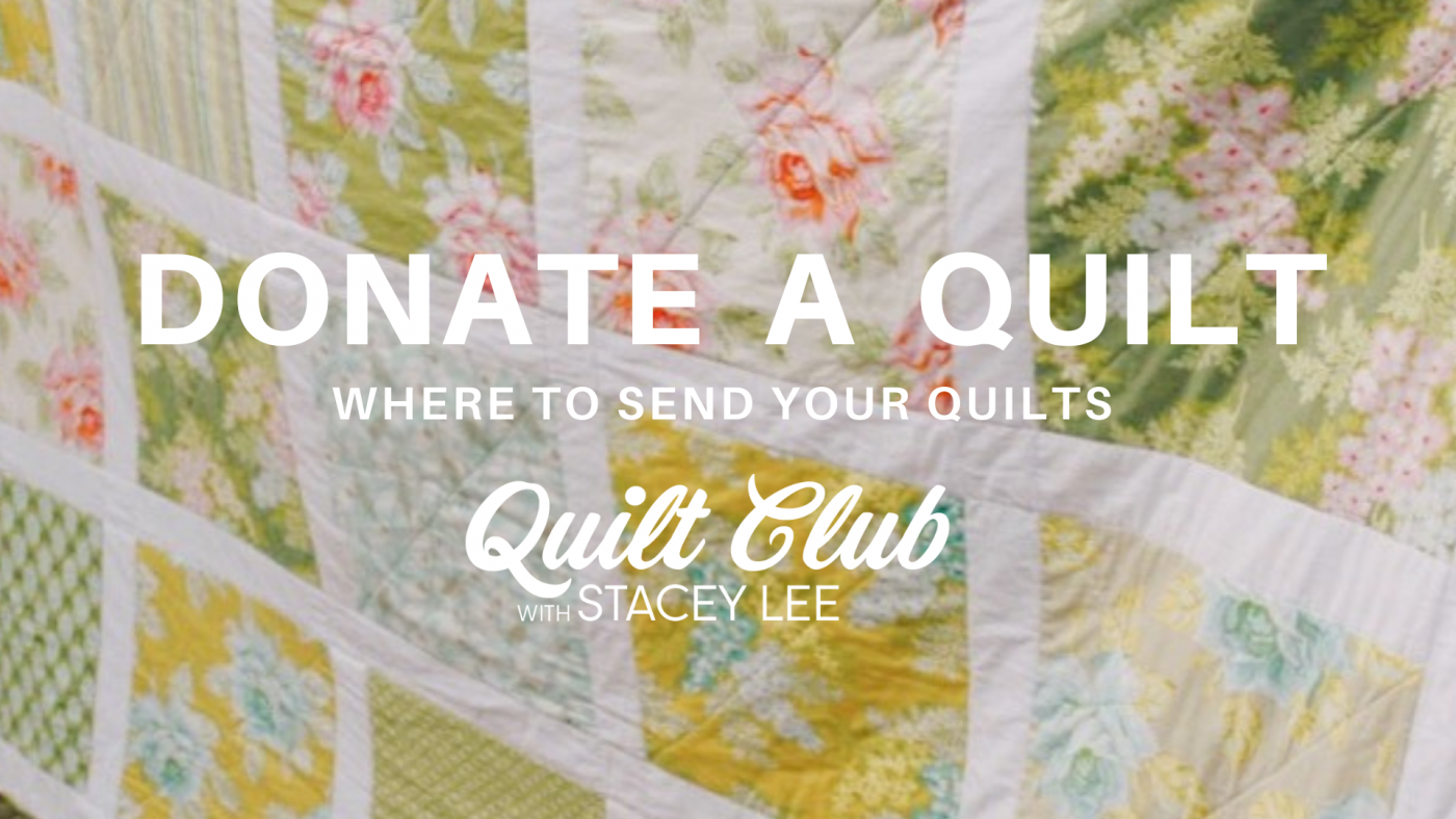 Donate a quilt