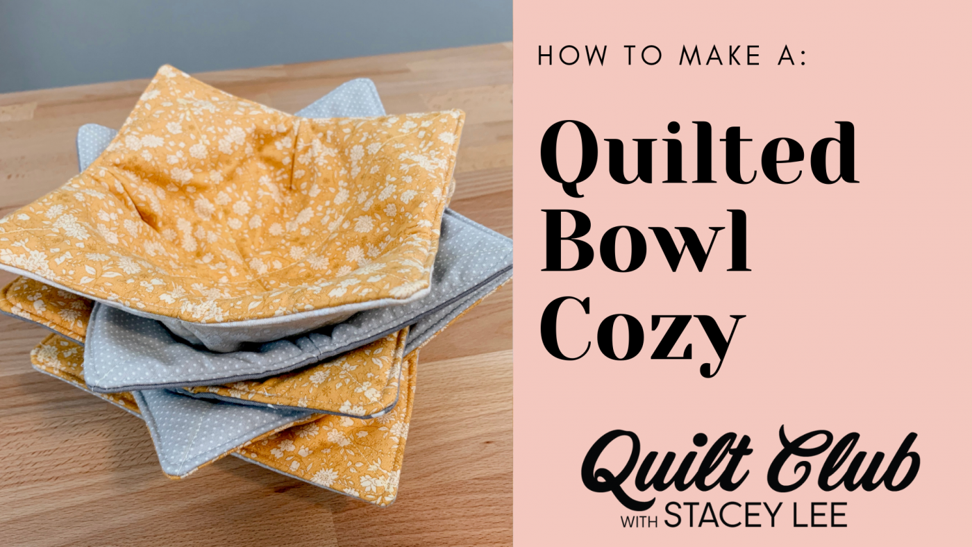 Quilted Bowl Cozy