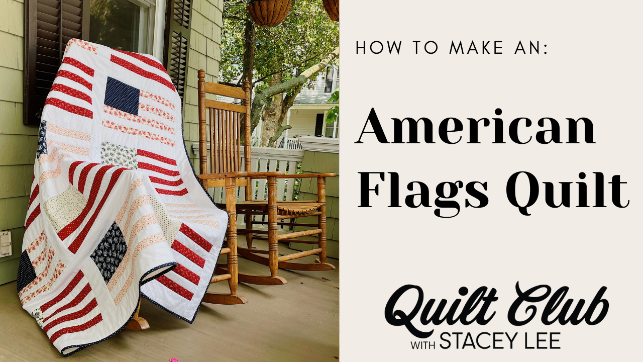 American Flags Quilt