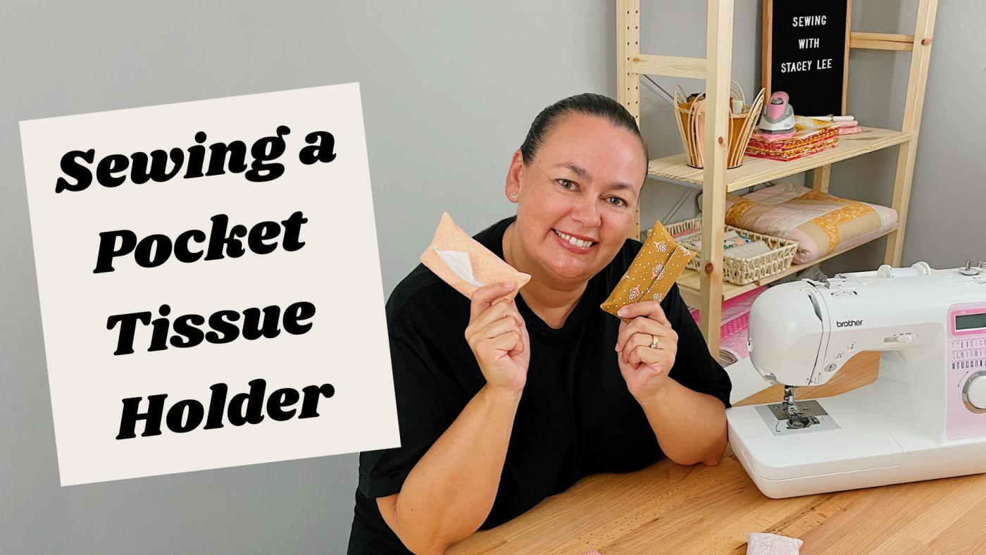 Sewing a Pocket Tissue Holder