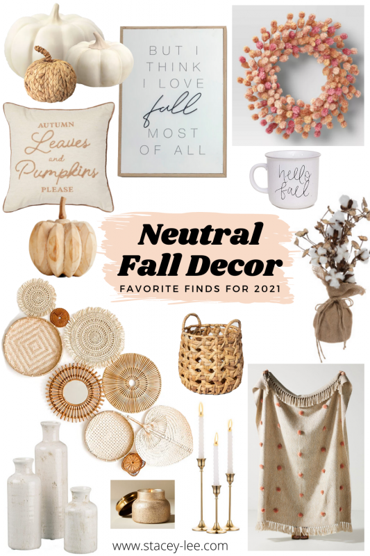 Fall decor finds 2021